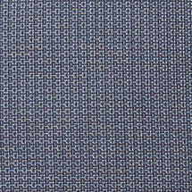 All Weather Flat Weave Seat Pad for Breeze Armchair - Blue