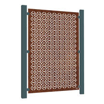Corten Steel Screen - Motif