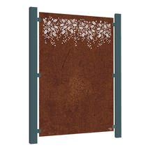 Corten Steel Screen - Burst
