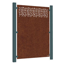 Corten Steel Screen - Privacy