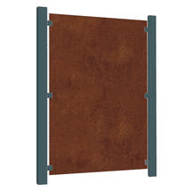 Corten Steel Screen - Blank