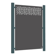 Grey-Brown Aluminium - Privacy
