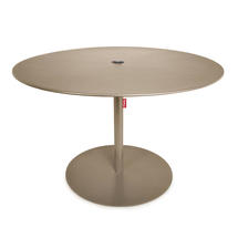 Formitable XL Parasol Table & Base - Taupe