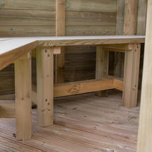 Bench Seat for 5.1m Oval Gazebo