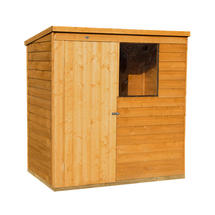 Lean To Styled Storage Shed 6x4