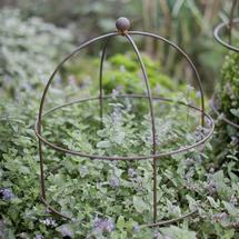 Domed Plant Support - Raw Metal