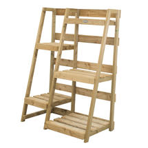 Ladder Styled Wooden Display