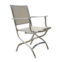 Dallas Folding Armchair - Stone