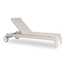 Safi Sunlounger - no arms, with Sunbrella cushion - Old lace