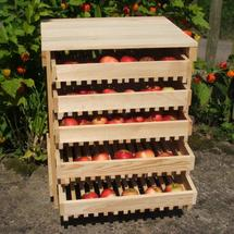 5 Drawer Pine Apple Rack
