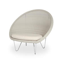 Gipsy Cocoon Steel Chair with Sunbrella Seat Cushion