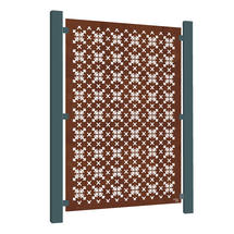 Corten Steel Screen - RHS Parterre
