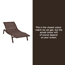 Alize Sunlounger - Russet