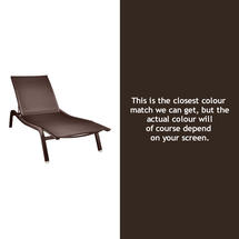 Alize XS Sunlounger - Russet