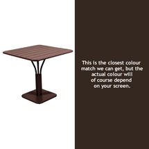Luxembourg Square Table - Russet