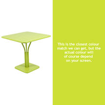 Luxembourg Square Table - Verbena Green