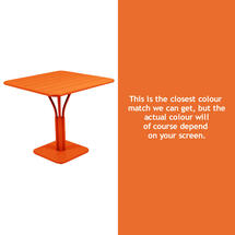 Luxembourg Square Table - Carrot