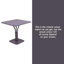 Luxembourg Square Table - Plum