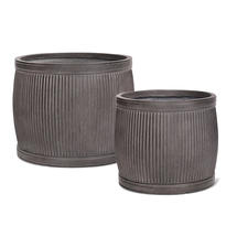 Victorian Styled Dolly Buckets x 2