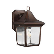 Oakmont Small Wall Lantern - Patina Bronze