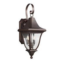 Oakmont  Medium Wall Lantern - Patina Bronze