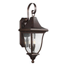 Oakmont  Large Wall Lantern - Patina Bronze