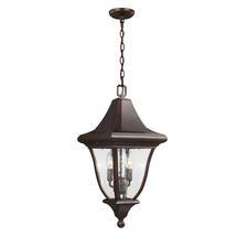 Oakmont  Medium Hanging Lantern - Patina Bronze