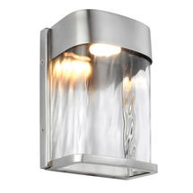Bennie Small LED Wall Light  - Painted Brushed Steel
