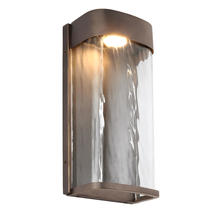 Bennie Large LED Wall Light - Antique Bronze
