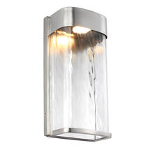 Bennie Large LED Wall Light - Painted Brushed Steel