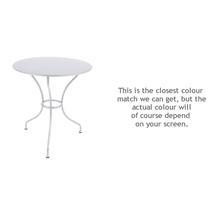 Opera 67cm Table - Cotton White