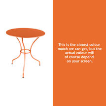 Opera 67cm Table - Carrot