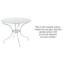 Opera 96cm Table - Cotton White