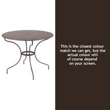 Opera 96cm Table - Russet