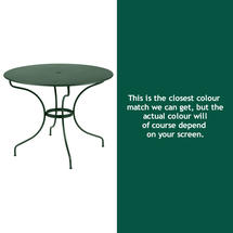 Opera 96cm Table - Cedar Green