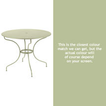 Opera 96cm Table - Willow Green