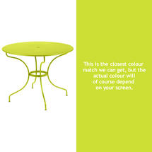 Opera 96cm Table - Verbena Green