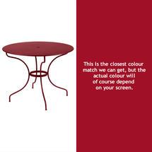 Opera 96cm Table - Chilli