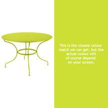Opera 117cm Table - Verbena Green