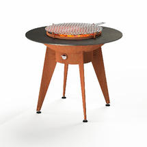 Forno Plancha Barbecue on Stand