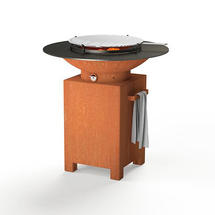 Forno Plancha Barbecue Square Base
