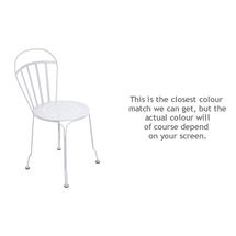 Louvre Stacking Chair - Cotton White