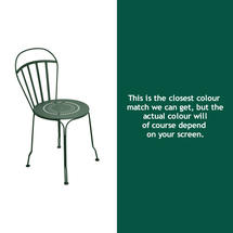 Louvre Stacking Chair - Cedar Green