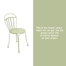Louvre Stacking Chair - Willow Green