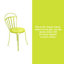 Louvre Stacking Chair - Verbena Green