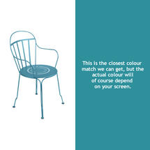 Louvre Stacking Armchair - Turquoise