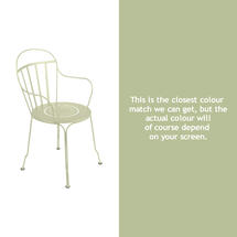 Louvre Stacking Armchair - Willow Green
