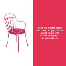 Louvre Stacking Armchair - Pink Praline