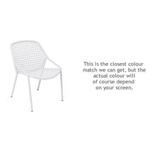 Croisette Armchair - Cotton White