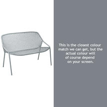 Croisette Bench - Storm Grey
